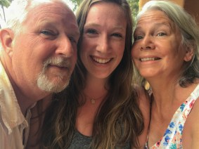 Goofy selfie at Mazatlan Mexico Bruce, Joyce & Megan