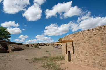 The restored kiva building