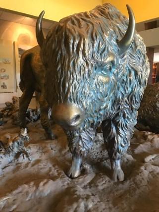 Bronze Bison at Cedar Breaks State Park