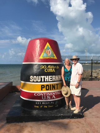 Southernmost point - closer to Cuba than Miami!