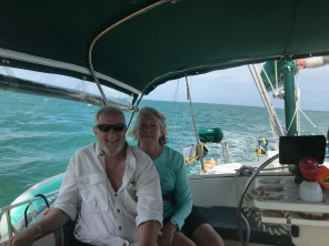 Sailing at Biscayne National Park