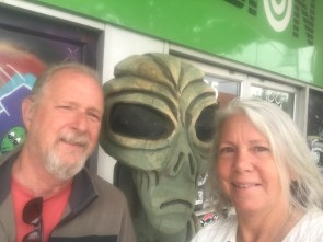 Alien joined us in Roswell