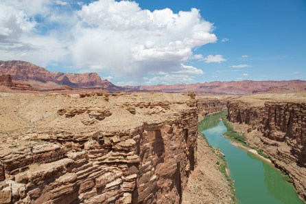 The Colorado River Canyon from Apache Bridge