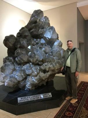 Largest Quartz Crystal - Krystall Galerie Museum at Swakapmund