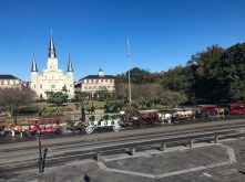 Saint Louis Cathedral at Jackson Square in New Orleans