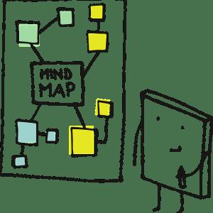 Mieux exploiter l'information issue de la veille avec le mindmapping. Etape 2 : créer la carte de travail