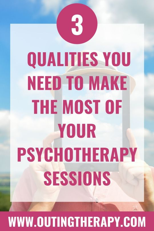 make the most of your Psychotherapy