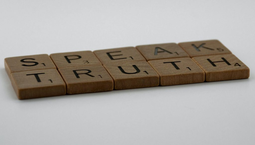 Speak the truth of what you want need and desire to make yourself a priority