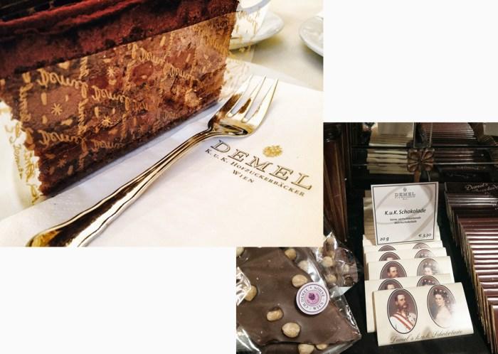 When in Vienna, eat chocolate cake at Demel's