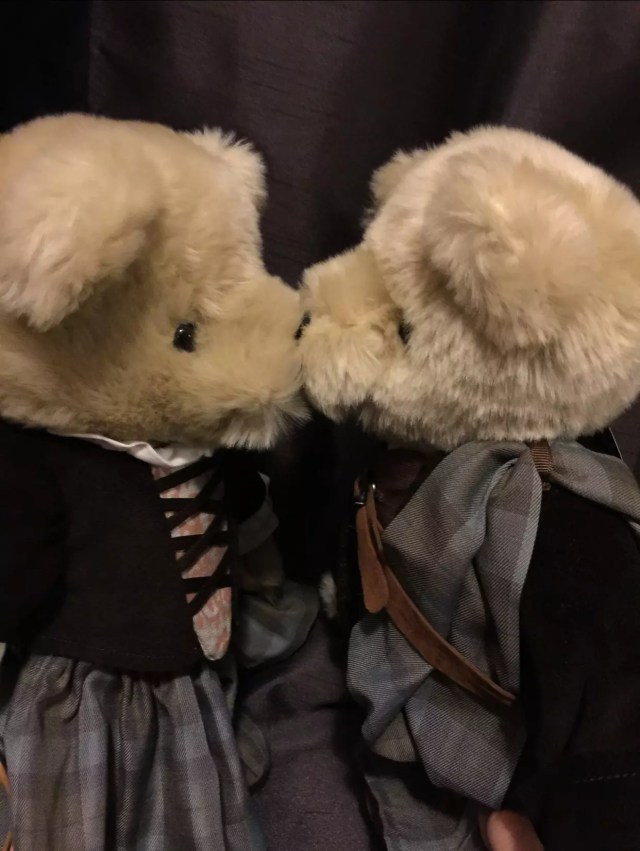 Outlander bears by North American Bear Co.