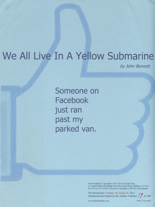 john bennett | we all live in a yellow submarine