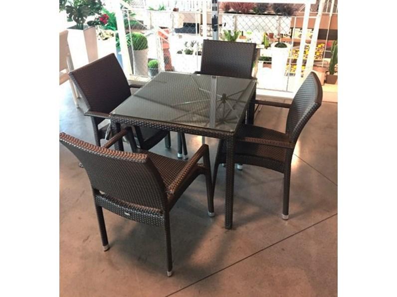 Offerta per sdraio design grigia slido a 100€. Tavolo Da Giardino Emu Delta 70 X 70 A Prezzi Outlet