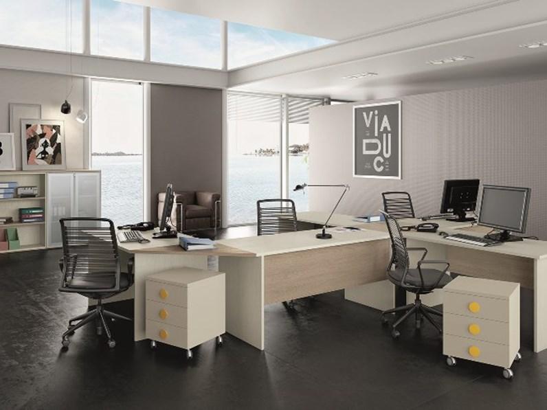 Arredamento per ufficio verona propone composizioni per l'ufficio comodi e funzionali. Arredamento Per Ufficio Scrivanie Angolari E Mobili Della San Martino Mobili
