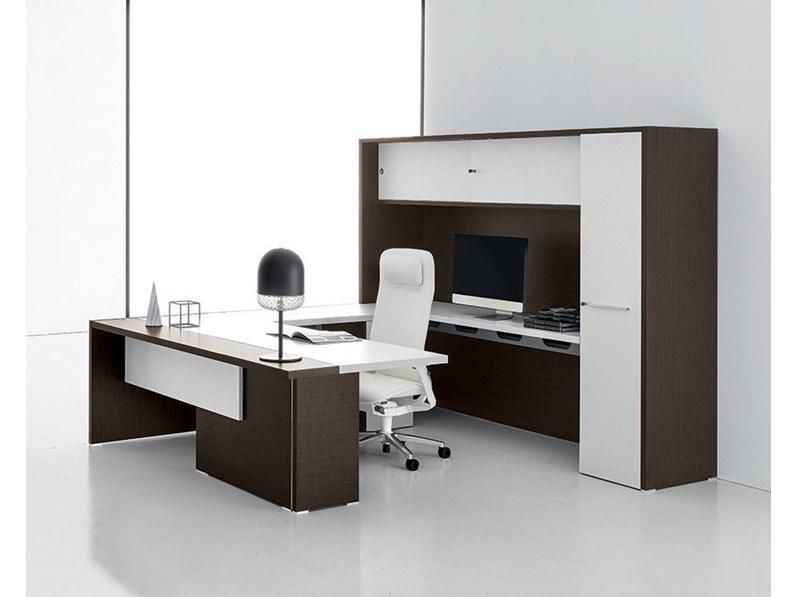 Arredare con mobili per ufficio non significa semplicemente riempire uno spazio con gusto. Mobile Per Ufficio In Legno Composizione Direzionale Oxford A Marchio Artigianale Con Forte Sconto