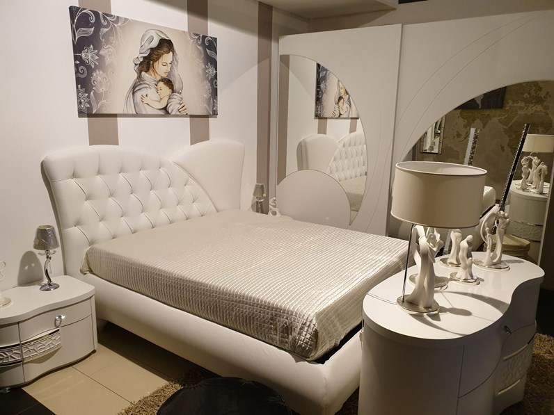 Se vuoi acquistare una camera completa a prezzi ribassati sei nel posto giusto: Camera Da Letto Nuvola Eurodesign Offerta Outlet