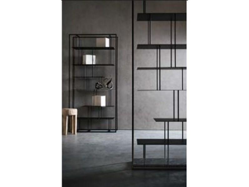 Homcom libreria di design mobili ufficio scaffale in legno 80x24x191cm. Mensola In Stile Design In Metallo Presotto Italia Libreria Tower