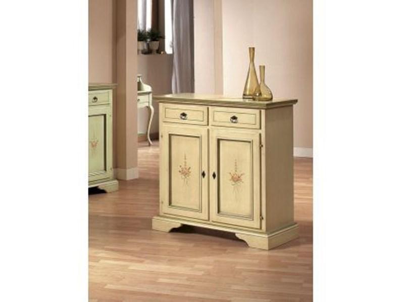Scegli i più moderni mobili per ingresso. Mobile Ingresso Classico A Terra Credenzina Di Artigianale Scontato
