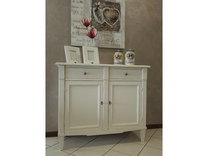 Moderni sono spesso ancora muniti di cavicchi di legno fabbricati alla. Mobile Ingresso In Legno Stile Classico Shabby Chic Bianco Artigianale