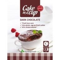 productos para celiacos saludables-Envase Bizcocho en Taza de Chocolate Negro Sukrin