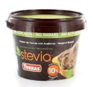 productos para celiacos saludables crema de cacao con avellanas y stevia