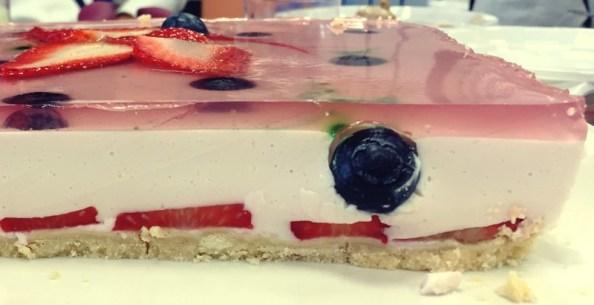 menús bajos en carbohidratos tarta postre