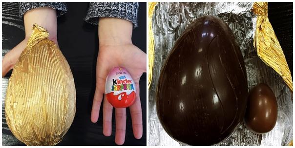 huevo kinder sorpresa contiene mucho azúcar