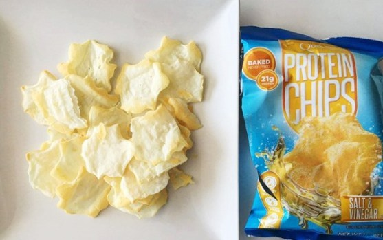 picnic saludable y lowcarb Protein Chips Quest
