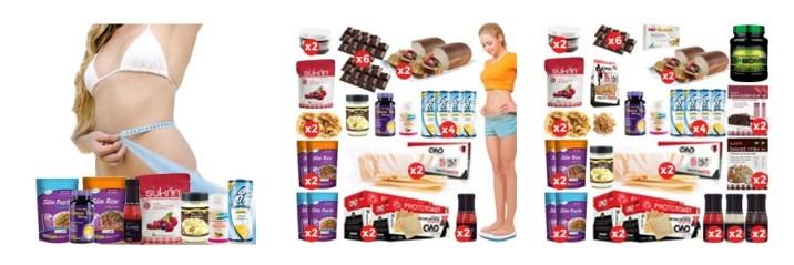 productos lowcarb, packs para adelgazar.