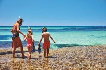 Actividades para ponerse en forma en familia snorkel