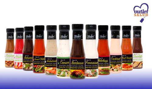 Salsas 0% 2BSlim para acompañar tus platos