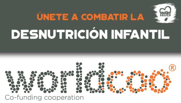 Puedes colaborar en Proyectos Sociales contra la Desnutrición Infantil a través de Outletsalud