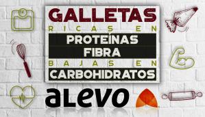 Galletas ALEVO Ricas en Proteínas y Fibra, Bajas en Carbohidratos