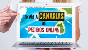 Envío a Canarias de Pedidos Online, en Outletsalud