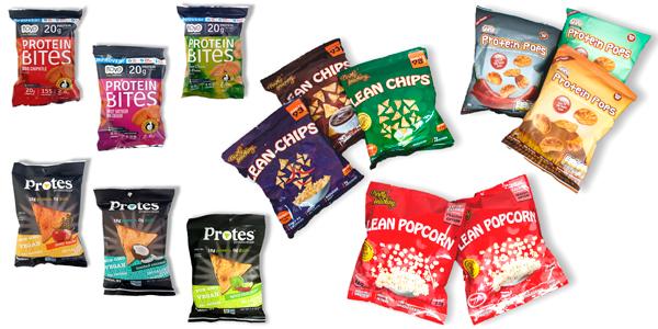 PROTEIN SNACKS Snacks, Chips y Nachos de Proteína, sólo en Outletsalud
