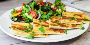 Receta Quesadillas pan lowcarb Lo-Dough