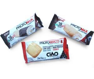 Galletas y pastas Protomax y Protobisco en Outletsalud