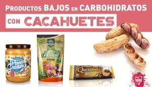 Productos con cacahuetes bajos en carbohidratos en Outletsalud
