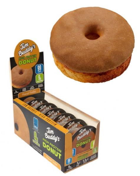 Donuts de Cacahuete lowcarb y bajos en azúcar