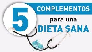 5 complementos para seguir una dieta sana