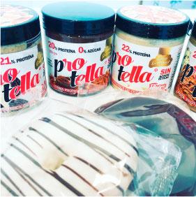 Cremas y Rosquillas sin azúcar añadido Protella