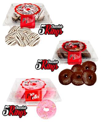 Donuts Joe and Gerry's sin azúcar añadido Protella en Outletsalud