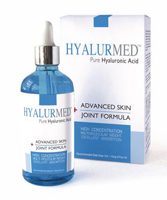 Ácido Hialurónico puro en gotas HYALURMED en Outletsalud