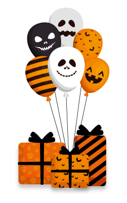 Figura sorpresa especial para Halloween
