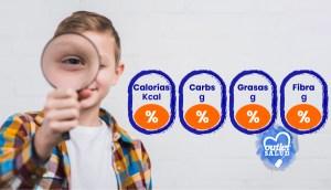 Guía para leer los Valores Nutricionales de los alimentos
