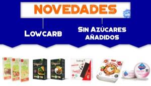Novedades Lowcarb y Sin Azúcares añadidos en OutletSalud