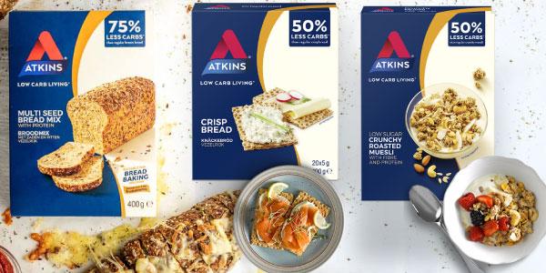 Alimentos bajos en carbohidratos Atkins en OutletSalud