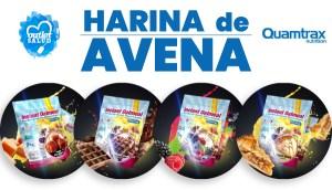 Harina de Avena Quamtrax en OutletSalud