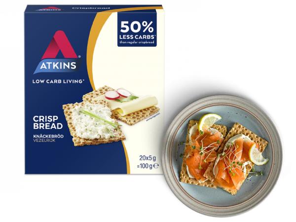 Tostadas bajas en carbohidratos Atkins en OutletSalud