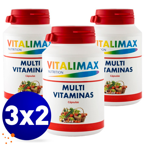 Multivitamínico y Multimineral Vitalimax vitamina D