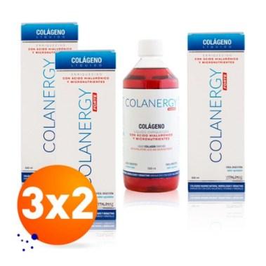 Pack 3x2 de colágeno Colanergy Forte